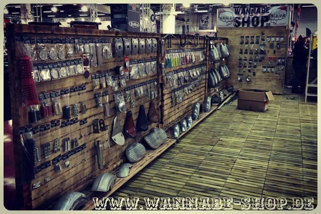 Wannabe-Shop Online einkaufen